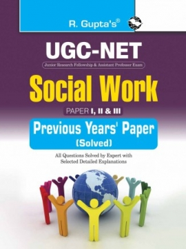 R Gupta UGC-NET Social Work Paper I II &III Previou's Paper