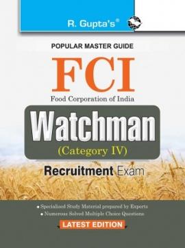 R Gupta FCI Watchman Exam Guide