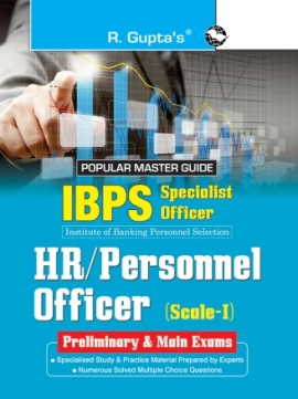 R Gupta IBPS Specialist Officer HR Personnel Officer Scale-I PRE & Main Exam