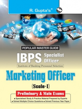 R Gupta IBPS Marketing Officer Scale-I Pre & Main Exam Guide