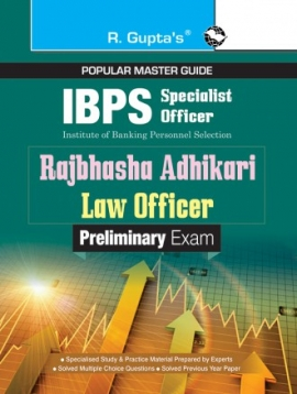 IBPS (Specialist Officer) Rajbhasha Adhikari / Law Officer (Preliminary) Exam Guide