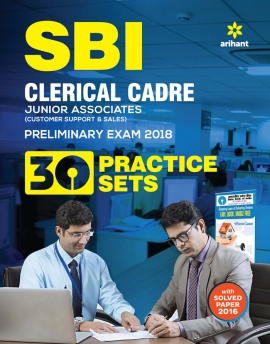 Arihant SBI Clerk Junior Associate Preliminary Exam 30 Practice Set 2018