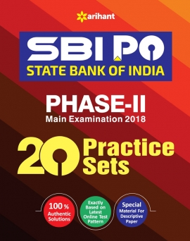 Arihant SBI PO Phase - II Practice Sets Main Examnation 2018