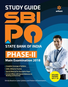 Arihant SBI PO PHASE II Main Exam Guide 2018