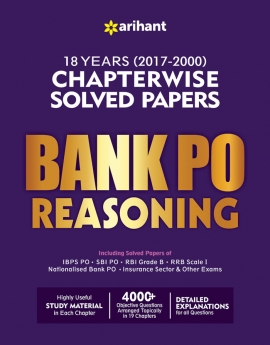 Arihatn Bank PO Reasoning Chapterwise Solved Papers