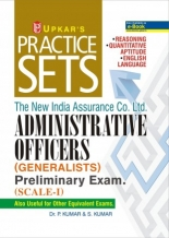 Practice Sets The New India Assurance Co. Ltd. ADMINISTRATIVE OFFICERS (GENERALISTS) Preliminary Exam 2020. (SCALE-I)