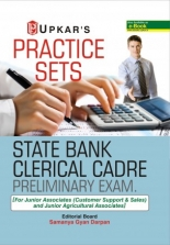 Upkar Practice Sets State Bank Of India Clerical Cadre Preliminary Exam 2020