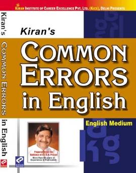Kiran Common Errors In English