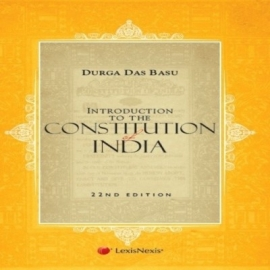 Introduction To The Constitution Of India ( 22nd edition)