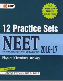 GK  NEET 12 Practice Sets (Includes Solved Papers 2015-2016) (ENGLISH)