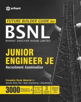 Arihant BSNL Junior Engineer JE Recruitment Exam 2016