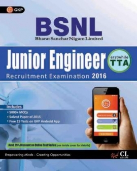 G K GUIDE TO BSNL Telecom Technical Assistant(TTA) Junior Engineer (erstwhile TTA)