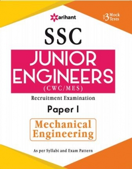 Arihant SSC Junior Engineer Recruitment Examination Paper I Mechanical Engineering