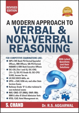 S. Chand - A Modern Approach to Verbal and Non-Verbal Reasoning (Revised Edition 2017)
