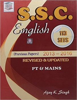 SSC English 113 Sets (Previous Papers 2013 -2016)