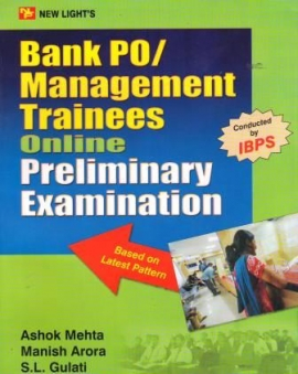 Bank Po/Management Trainees Online Preliminary Examination