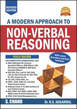 A Modern Approach to Non-Verbal Reasoning By R.S. Aggarwal