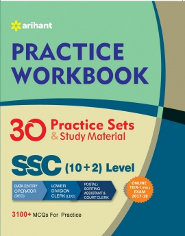 SSC (10+2) Tier I 30 Practice Sets & Study Material Workbook