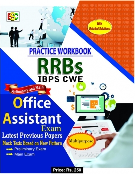 PractiseWork Book for RRB Office Assistant (PT and Main) Exam
