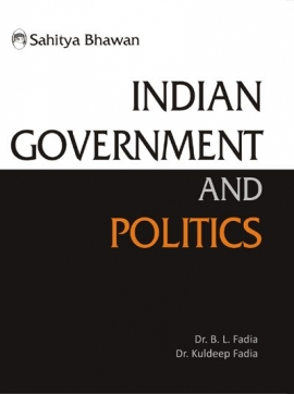 Indian Government and Politics By.B.L.Fadiya