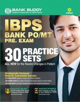 Arihant IBPS Bank PO/MT Pre. Exam 30 PRACTICE SETS