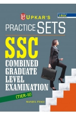 Upkar Practice Sets SSC Combined Graduate Level Exam (TIER-II)