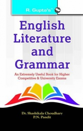 English Literature & Grammar For Higher Competitive & University Exams