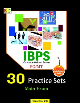 BSC 30 Practice Sets: IBPS (CWE) PO/MT Main Exam