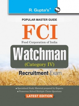 R Gupta FCI Watchman Exam Guide