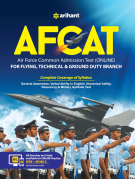 Air Force Commom Admission Test (AFCAT Flying Technical & Ground Duty Branch)