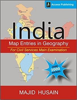 India: Map Entries in Geography for Civil Services Main Examination