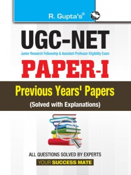 R Gupta UGC NET Paper-I Previous Years'Papers