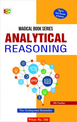 BSC Magical Book Series Analytical Reasoning By M.K.Panday