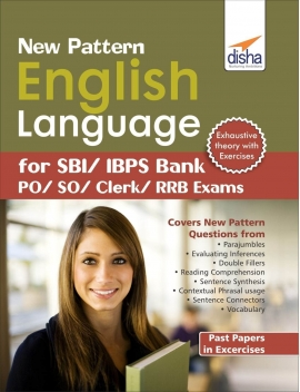 Disha English Language For bank Past Papers In Excercises
