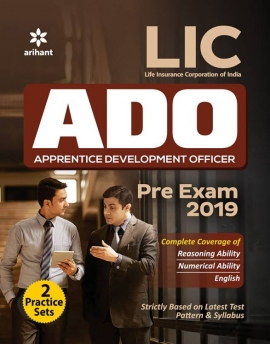 Life Insurance Corporation Of India Apprentice Development Officer (LIC ADO) Pre Exam 2019