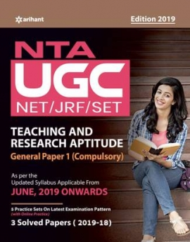 NTA UGC NET / JRF / SET Teaching And Research Aptitude Paper -I