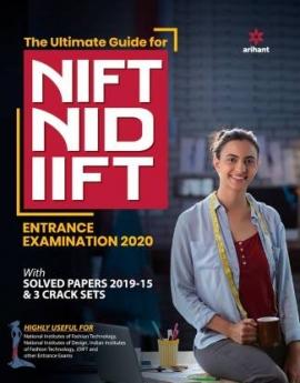 ARIHANT NIFT NID IIFT EXAM GUIDE 2020