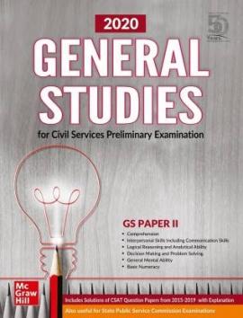TMH GENERAL STUDIES PAPER-2 2020