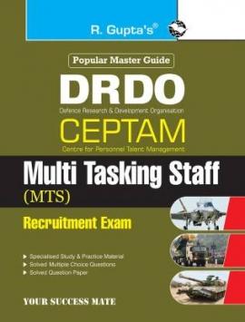 DRDO: CEPTAM (Tier-I) Multi Tasking Staff (MTS) Recruitment Exam Guide (English)
