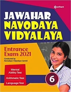 Arihant Jawahar Navodaya Vidyalaya Entrance Exam 2021 Class 6