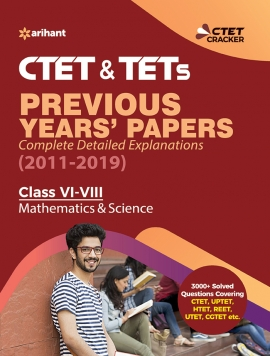CTET & TETs Previous Years Papers Class 6-8 MAS & SCIENCE 2019