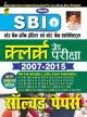 Kiran SBI Clerk Examination Solved Papers 2007-2015